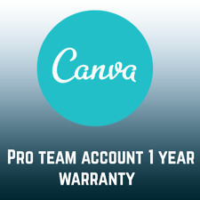 Canva pro 1 year custom user (warranty)