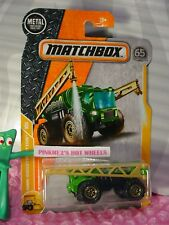 2018 MATCHBOX #46 RAIN MAKER☆green/gold☆MBX CONSTRUCTION☆65TH