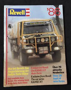 vintage revell models catalog 1986