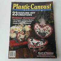 Plastic Canvas Magazines Number 33 July/August 1994