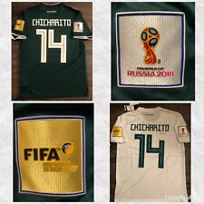 *FIFA WORLD CUP 2018 * CHICHARITO HERNANDEZ * MEXICO AWAY-HOME JERSEY