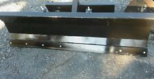 "New 48"" / 4' Mini Skid Steer Snow Plow /Dozer Dingo Vermeer Ditch Witch finn"