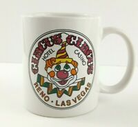 Circus Circus Mug Cup Reno Las Vegas Casino Hotel Coffee Clown Face Tea