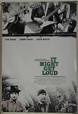 IT MIGHT GET LOUD DS ROLLED ORIG 1SH MOVIE POSTER JIMMY PAGE JACK WHITE (2008)