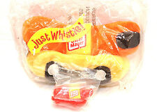 New OSCAR MAYER PLUSH WEINER MOBILE plus JUST WHISTLE CAR Original Packaging