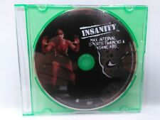Insanity Beachbody Max Interval Sports Training & Insane Abs  DVD 2009 Disc ONLY