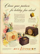 1948 Vintage ad for RCA Victor /The Golden Throat/Radio/ (081513)