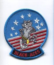 VF-41 BLACK ACES GRUMMAN F-14 TOMCAT US Navy Fighter Squadron Shoulder Patch