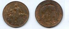 **gertbrolen 5 Centimes bronze Type Dupuis  1899  Superbe