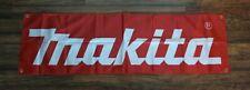 Makita Banner Flag 1.5 x 5 Red Hardware Tool Store Advertising Work Shop Garage