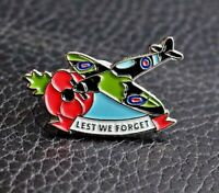 2021 WW2 spitfire supermarine RAF new VETERAN enamel pin badge