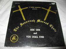 Savannah Massed Choir Larry McDuffie Black Gospel RECORD Church Soul SEALED