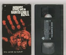 HOUSE ON HAUNTED HILL 1999 Horror VHS video Movie Gore Cult Slasher Sex