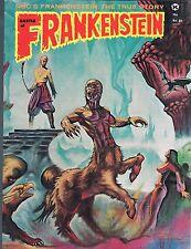 Castle of Frankenstein #21 Golden Voyage Sinbad Vampira  Body Snatchers 1974