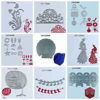 Top Box Metal Cutting Dies Stencil Scrapbooking Album Paper Card Embossing Craft