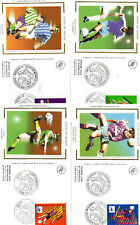 France - First Day Covers x4 - World Cup 1998