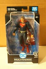 """DC MULTIVERSE SNYDER JUSTICE LEAGUE 7"""" FIGURE SUPERMNA RED/BLUE TARGET EXCLUSIVE"""