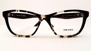 Prada VPR 04T U6K  Havana Eyeglasses New Authentic 52