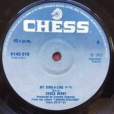 Chuck Berry - My Ding-A-Ling / Let's Boogie - Chess 6145-019 Ex Condition