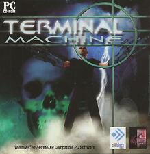 TERMINAL MACHINE Future Alien Shooter PC Game NEW XP