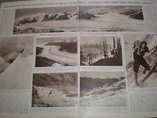 Photo article Canada a Klinaklini Glacier expedition British Columbia 1936 rf AZ