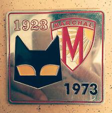 VINTAGE S.E.V. MARCHAL FOG LIGHTS bulbs HISTORY CAR BADGE FOR SALE CAT LOGO 1923
