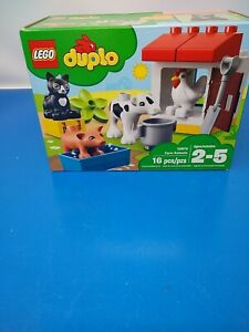 10870 LEGO Duplo Town Farm Animals 16 Pieces Age 2+