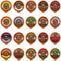 Crazy Cups Flavored Coffee Single Serve for Keurig K Cups Brewer Variety Pack,20