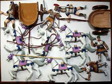early learning center elc roman chariots plastic figures toy soldiers