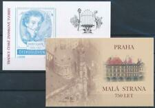 [G356580] Czech Republic 2007 lot of 2 good complete booklets very fine MNH