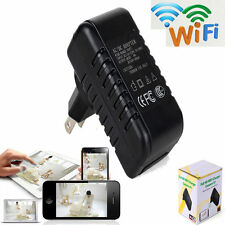 HD 1080P WIFI Security Mini SPY Hidden Wall Charger Camera AC Adapter DVR Camera