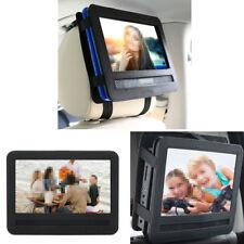 """7"""" Car Headrest Mount Bag for Swivel & Flip Style Portable DVD Player Black"""