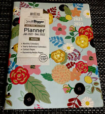 Monthly Plannercalendar Vinyl Front Amp Back Covers Easy Reader