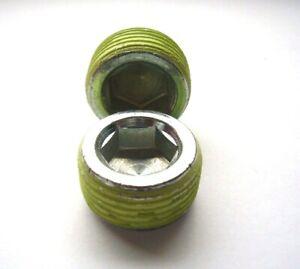 3/4 - 14 NPTF Socket Pressure Plug With Thread Locker Patch Skt Blanking Plug