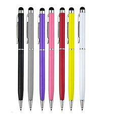 7 PACK Stylus Pen Set. Random Colours. Touch Screen and Biro For iPhone 7 8 XS