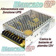 ALIMENTATORE UPS 13,8V CARICABATTERIE BUFFER 50W backup GRUPPO CONTINUITÀ quadro