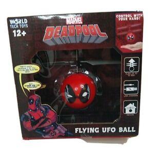 Marvel Deadpool Flying UFO Ball New  Ages 12 +