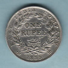 India. 1835 William 1111 - One Rupee.. RS Incuse.. Part Lustre.  gVF/EF