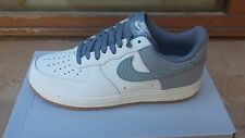 Nike Air Force 1 One Low Summit White Wolf Grey Gum Light 488298 161 Mens Size 8