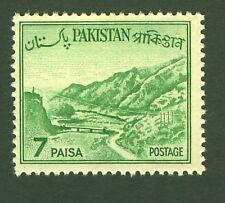 Pakistan 1961 SG135 7 paisa Emrald Green  MNH