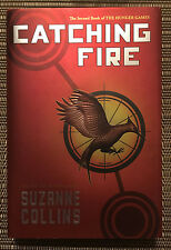 Catching Fire by Suzanne Collins - Hardcover Book