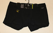Holeproof Mens Black King Comfort Stretch Cotton Trunk Brief Size 6XL New
