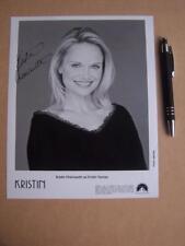 Kristin Chenoweth    Autograph ( GC6)