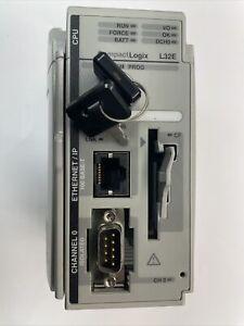 Allen-Bradley 1769-L32E Logix 532E Processor Unit Ser. A F/W Rev. 1.15 plc
