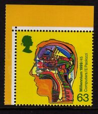 GB 1999 World Changers booklet stamp SG 2072a MNH (Perf 14 1/2 x 14)