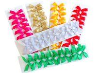 Geschenkschleifen selbstklebend 20 Stück Fertigschleife Schleife für Geschenke