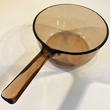 1 Pc Corning Vision Amber Glass 1.5L Double Boiler Bottom Pot Cookware France