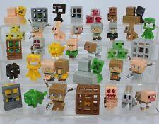 Minecraft Obsidian Series 4 Mini Figures 36 pc Toys Steve Alex Cat Rabbit Zombie