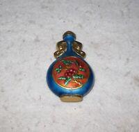 "Vintage Perfume Bottle Shelf Decor 3.5"""