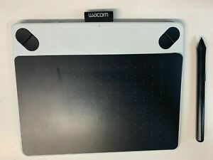 Wacom Intuos Draw Pen 7 CTL-490DW-S Draw Graphics Tablet - White *USED*